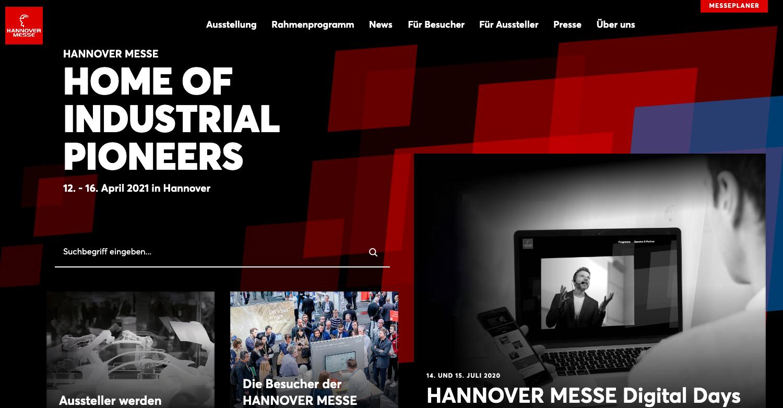 Hannover Messe Digital Days Live video Event