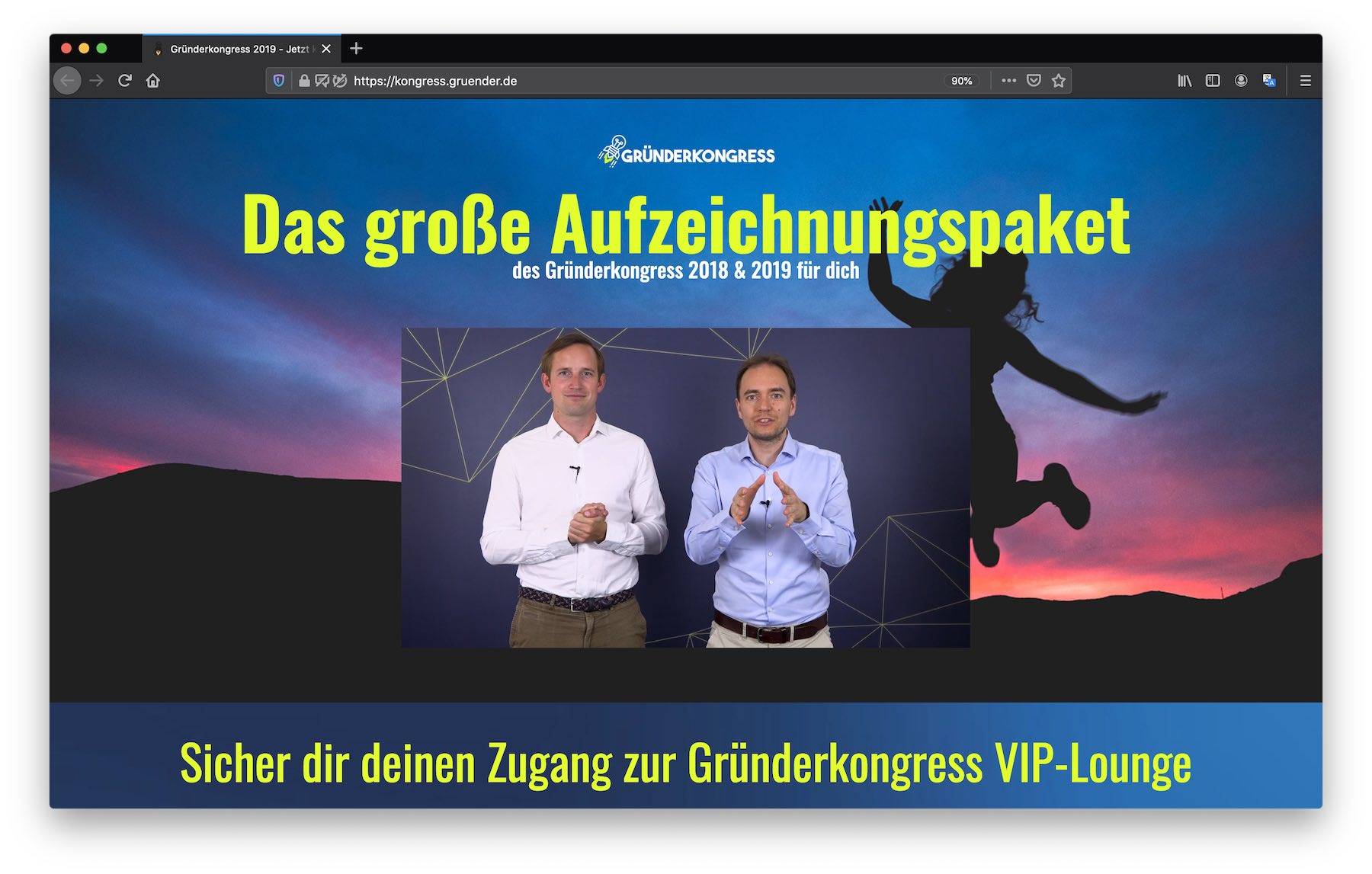gruenderkongress-live-stream-event