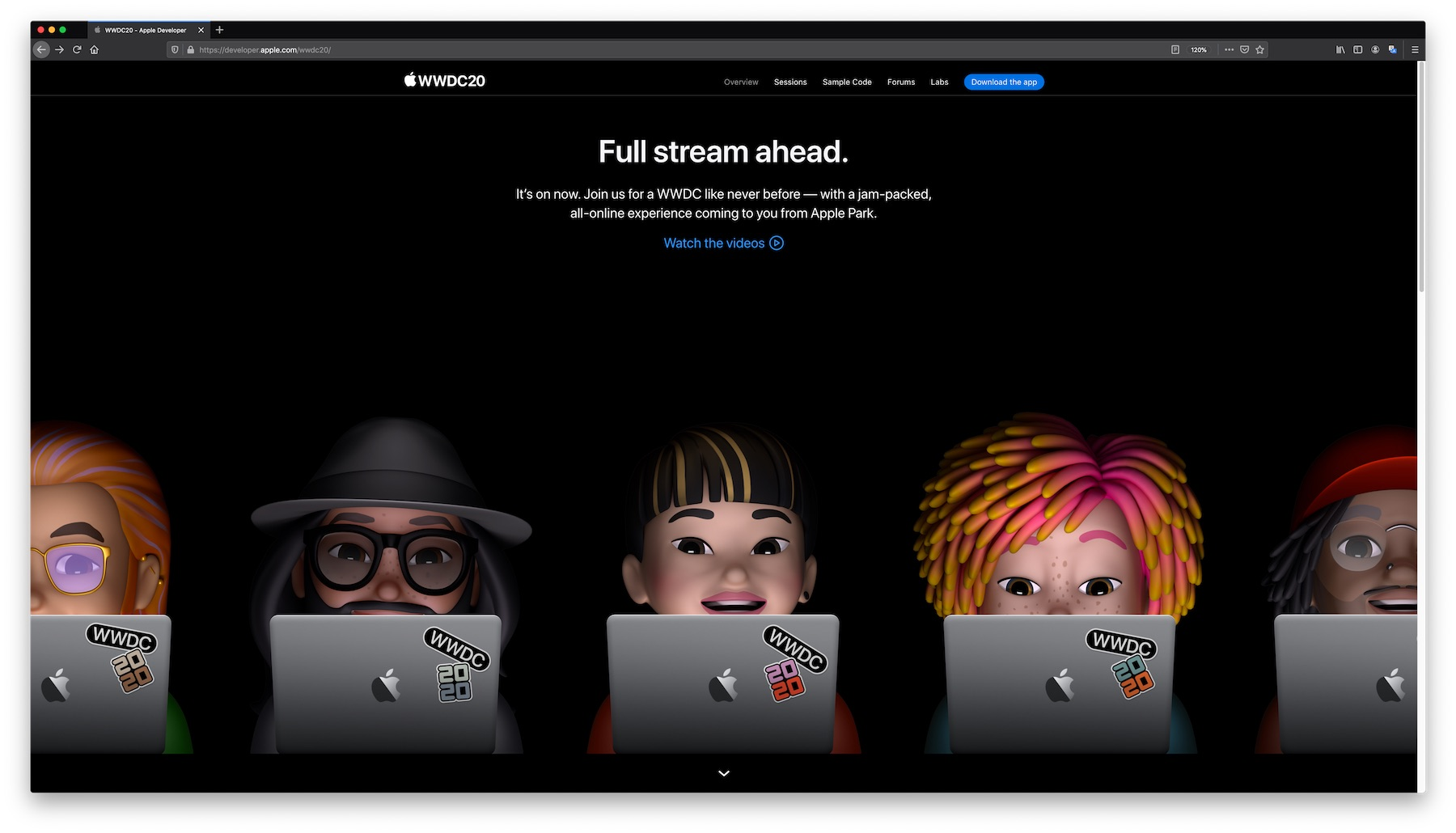 Apple Online-Messe WWDC Online-Live-Event