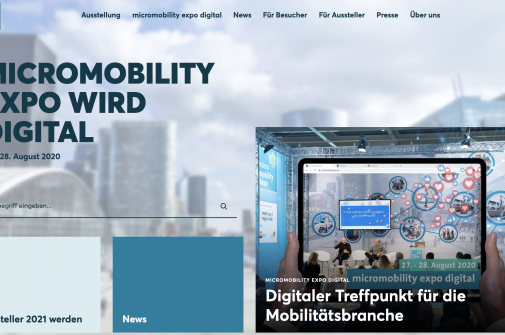 online messe micro mobility
