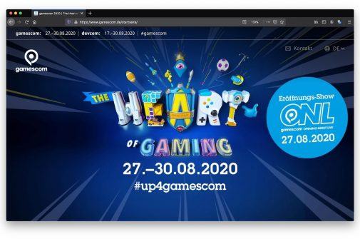 gamescom2020 Live-Video-Event