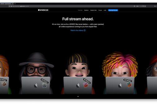 Apple WWDC20 online-messe