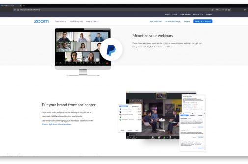 zoom live-video Dienst